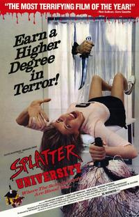 Splatter University - 11 x 17 Movie Poster - Style A