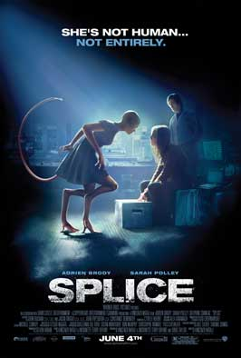 Splice - 43 x 62 Movie Poster - Bus Shelter Style A