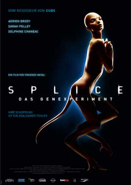 Splice - 11 x 17 Movie Poster - German Style A