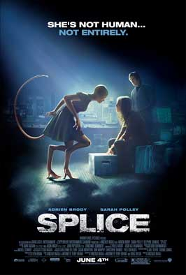 Splice - 11 x 17 Movie Poster - Style A - Double Sided