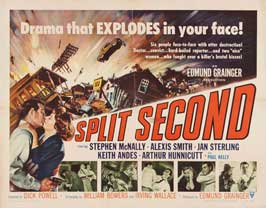 Split Second - 11 x 14 Movie Poster - Style A