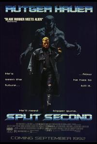 Split Second - 11 x 17 Movie Poster - Style B
