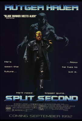 Split Second - 27 x 40 Movie Poster - Style B