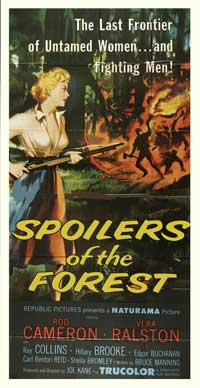 Spoilers of the Forest - 20 x 40 Movie Poster - Style A