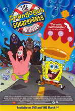 SpongeBob SquarePants Movie - 11 x 17 Movie Poster - Style D