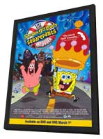 SpongeBob SquarePants Movie - 11 x 17 Movie Poster - Style D - in Deluxe Wood Frame