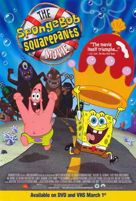 SpongeBob SquarePants Movie - 11 x 17 Movie Poster - Style D