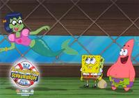SpongeBob SquarePants Movie - 8 x 10 Color Photo Foreign #1
