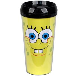 SpongeBob SquarePants - Face 16 oz. Plastic Travel Mug