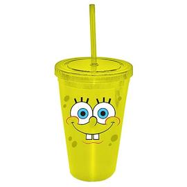 SpongeBob SquarePants - Face 16 oz. Plastic Travel Cup