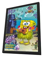 SpongeBob SquarePants - 11 x 17 TV Poster - Style C - in Deluxe Wood Frame
