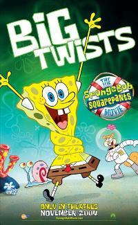 SpongeBob SquarePants - 27 x 40 Movie Poster - Style B