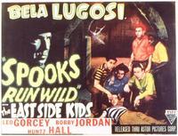 Spooks Run Wild - 11 x 14 Movie Poster - Style A