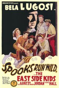 Spooks Run Wild - 43 x 62 Movie Poster - Bus Shelter Style A