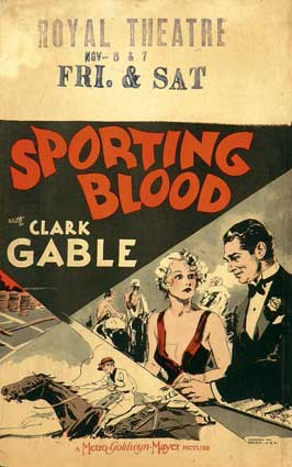 Sporting Blood - 11 x 17 Movie Poster - Style B