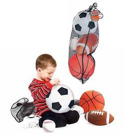 Sports - Balls In A Mesh Bag Plush Toy