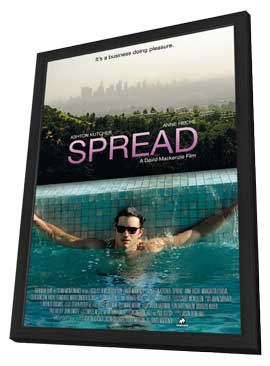 Spread - 27 x 40 Movie Poster - Style A - in Deluxe Wood Frame