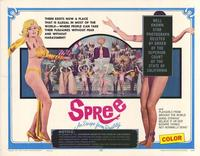 Spree-An Escape From Reality - 22 x 28 Movie Poster - Half Sheet Style A
