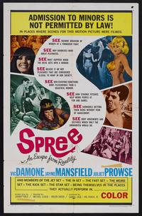 Spree-An Escape From Reality - 11 x 17 Movie Poster - Style B