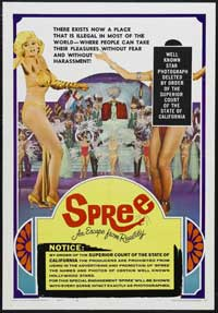 Spree-An Escape From Reality - 11 x 17 Movie Poster - Style C