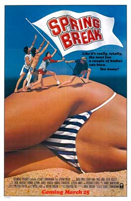 Spring Break - 27 x 40 Movie Poster - Style B