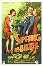 Spring Is Here - 11 x 17 Movie Poster - Style A