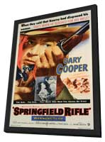 Springfield Rifle - 11 x 17 Movie Poster - Style A - in Deluxe Wood Frame