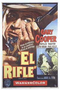 Springfield Rifle - 11 x 17 Movie Poster - Spanish Style A