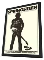 Springsteen: The Bottom Line - 27 x 40 Movie Poster - Style A - in Deluxe Wood Frame