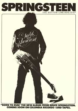Springsteen: The Bottom Line - 43 x 62 Movie Poster - Bus Shelter Style A