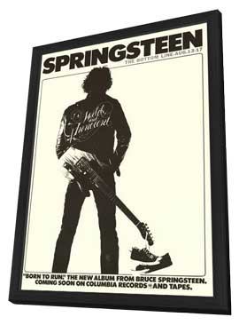 Springsteen: The Bottom Line - 11 x 17 Movie Poster - Style A - in Deluxe Wood Frame