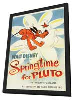 Springtime for Pluto - 11 x 17 Movie Poster - Style A - in Deluxe Wood Frame