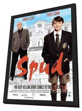 Spud - 11 x 17 Movie Poster - Style B - in Deluxe Wood Frame