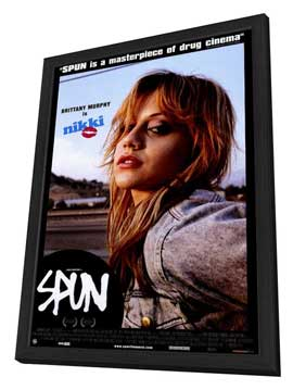 Spun - 27 x 40 Movie Poster - Style C - in Deluxe Wood Frame