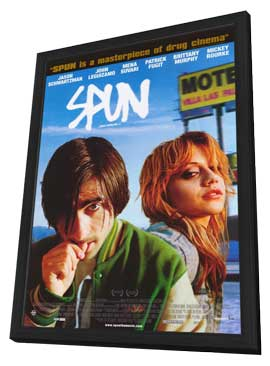 Spun - 11 x 17 Movie Poster - Style A - in Deluxe Wood Frame