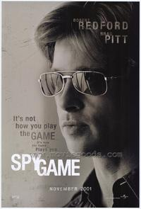 Spy Game - 27 x 40 Movie Poster - Style C