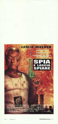 Spy Hard - 13 x 28 Movie Poster - Italian Style A