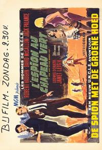 Spy in the Green Hat - 11 x 17 Movie Poster - Belgian Style A