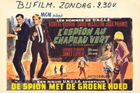 Spy in the Green Hat - 27 x 40 Movie Poster - Belgian Style A