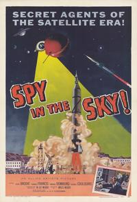 Spy in the Sky - 11 x 17 Movie Poster - Style A