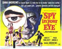 Spy In Your Eye - 11 x 14 Movie Poster - Style A