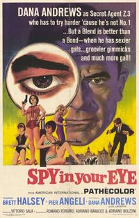 Spy In Your Eye - 11 x 17 Movie Poster - Style A
