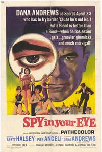 Spy In Your Eye - 27 x 40 Movie Poster - Style A
