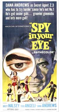 Spy In Your Eye - 20 x 40 Movie Poster - Style A
