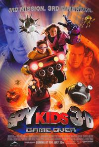 Spy Kids 3-D: Game Over - 11 x 17 Movie Poster - Style A