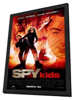 Spy Kids - 27 x 40 Movie Poster - Style B - in Deluxe Wood Frame
