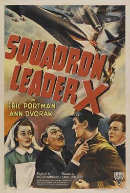 Squadron Leader X - 27 x 40 Movie Poster - Style A
