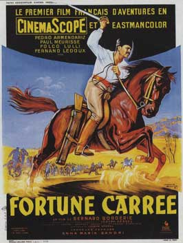 Square Fortune - 11 x 17 Movie Poster - French Style A
