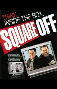 Square Off - 11 x 17 TV Poster - Style B
