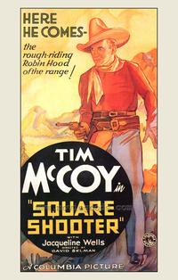 Square Shooter - 43 x 62 Movie Poster - Bus Shelter Style A